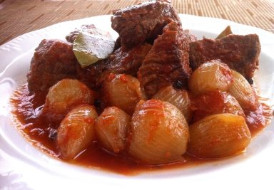 Greek Beef Stifado (Stew)