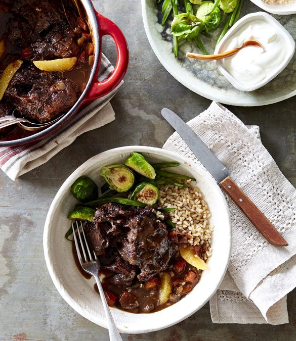 Orange Braised Beef Cheeks