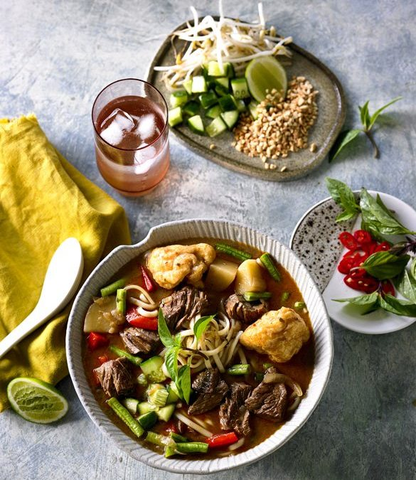 SLOW COOKED MALAYSIAN BEEF LAKSA